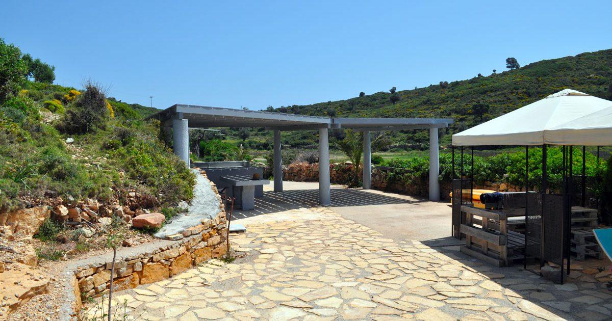 La Villa M : location d'une maison avec plage privée à Lipsi
