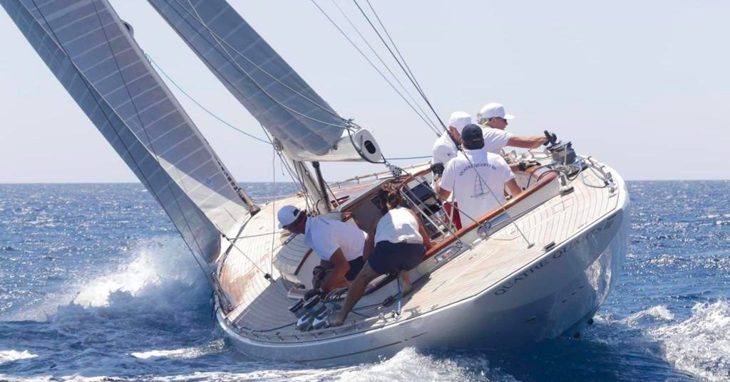 Faire du voilier à Lipsi