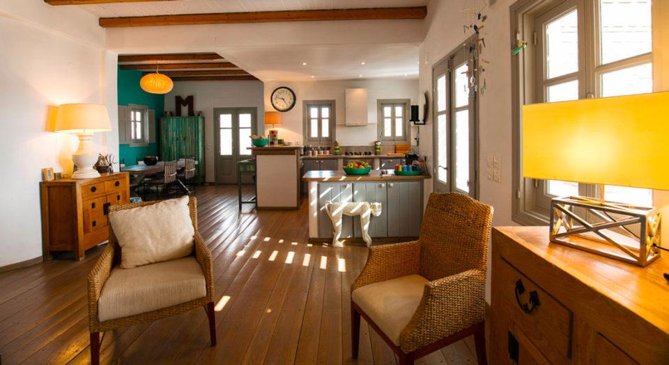 Une maison au luxe raffiné et tout confort à Lipsi : la Villa M