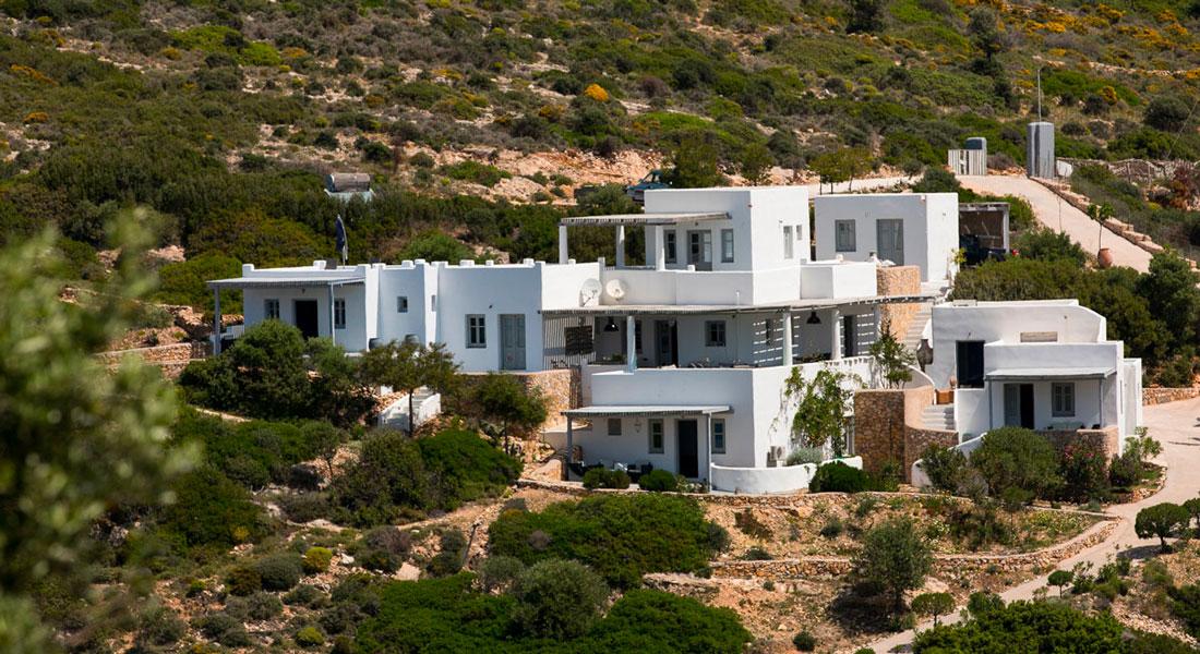 La Villa M, une maison de rêve à Lipsi. Location de vacances.