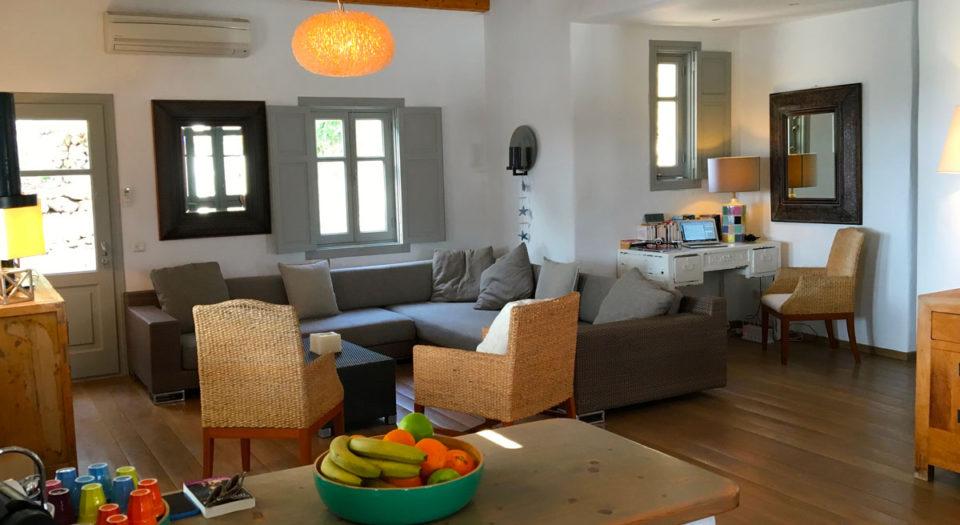 Une maison authentique et conviviale pour vos vacances, la Villa M à Lipsi