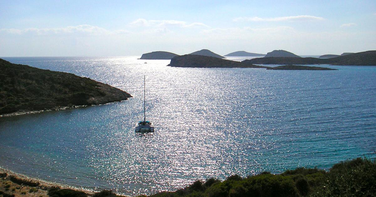 La Villa M, une maison à louer avec vue sur la mer Egée, à Lipsi.