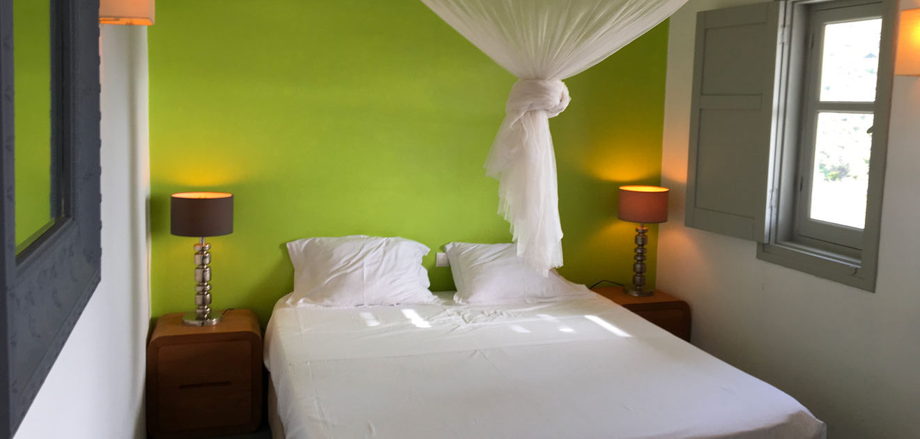 Des chambres romantiques à la Villa M, Lipsi