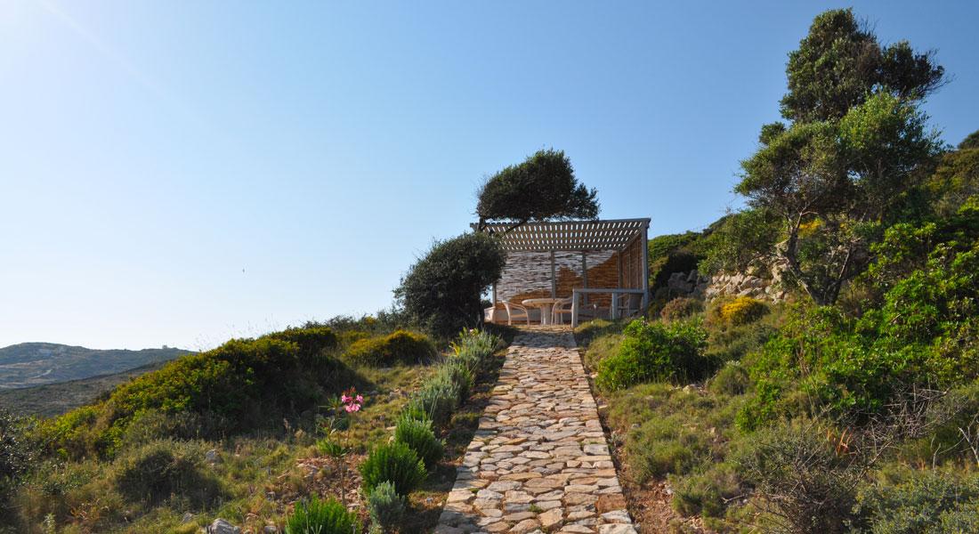La Villa M, nature et calme pour vos vacances à Lipsi