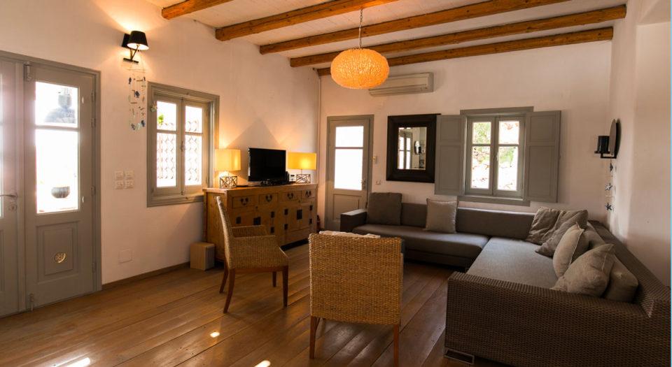 La Villa M : location d'une maison tout confort 7 chambres à Lipsi.