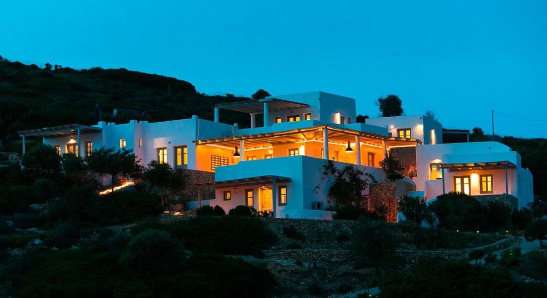 Lipsi, Location de vacances, maison avec vue sur la mer