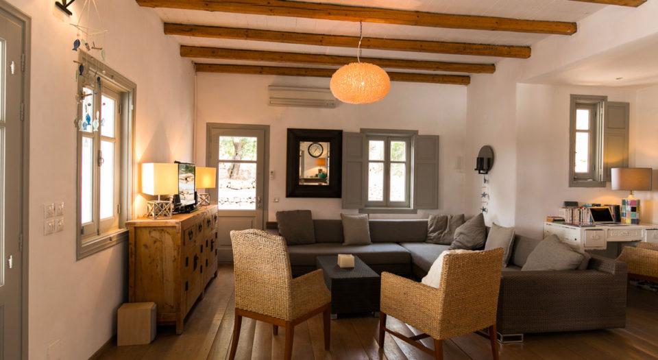 Votre maison de vacances à Lipsi. La Villa M.
