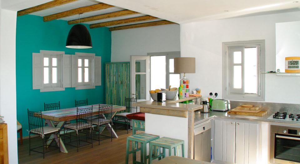 La villa M : tout confort, toute équipée, votre location de maison à Lipsi.