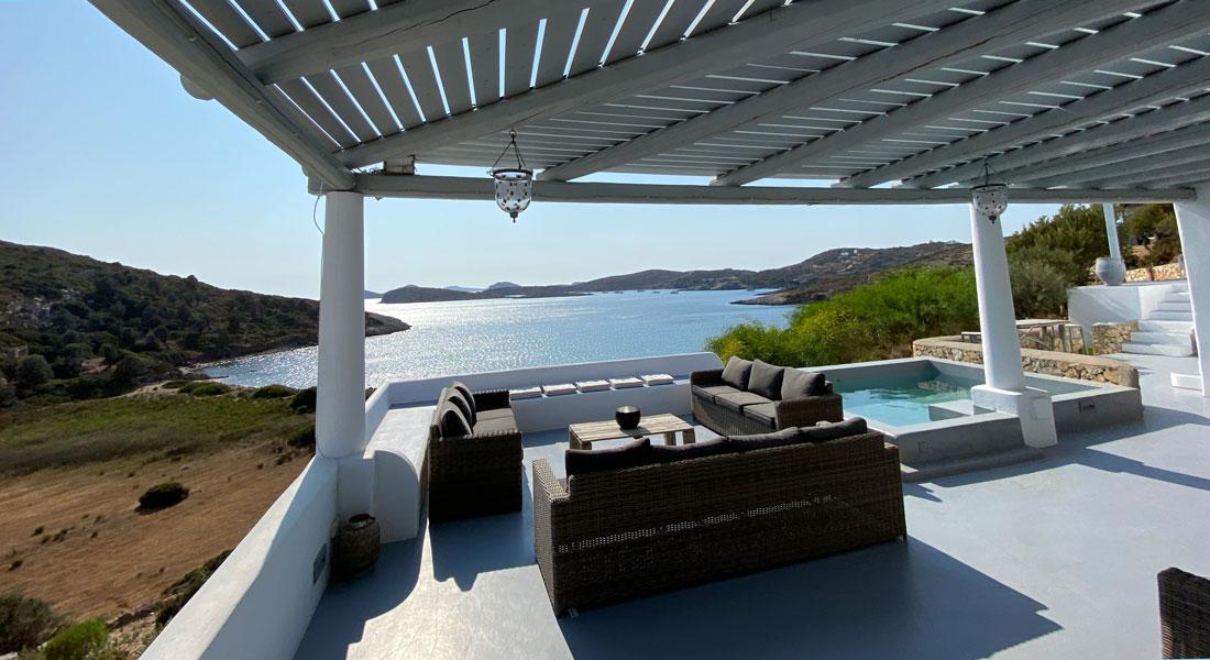 Location de vacances Lipsi - Maison avec vue sur la mer - La Villa M