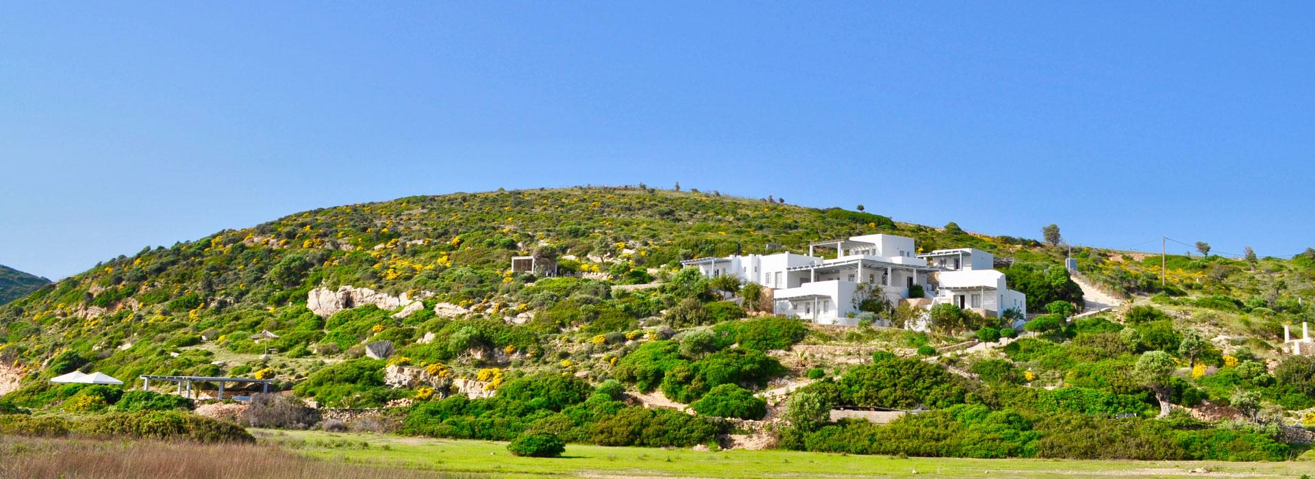 Location maison face à la mer - Lipsi