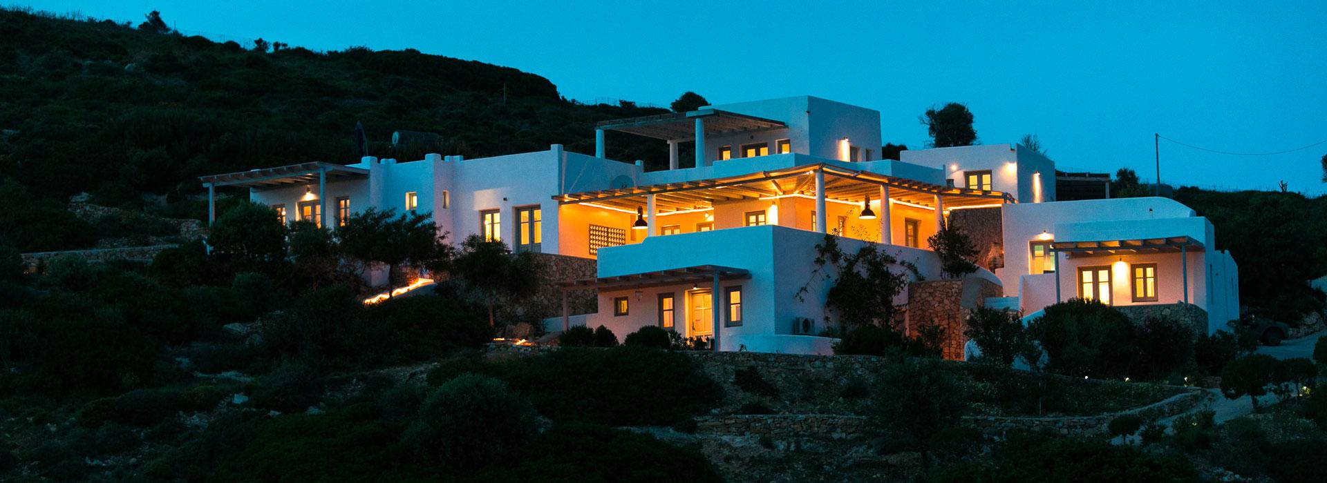 Location maison avec vue sur la mer - Lipsi