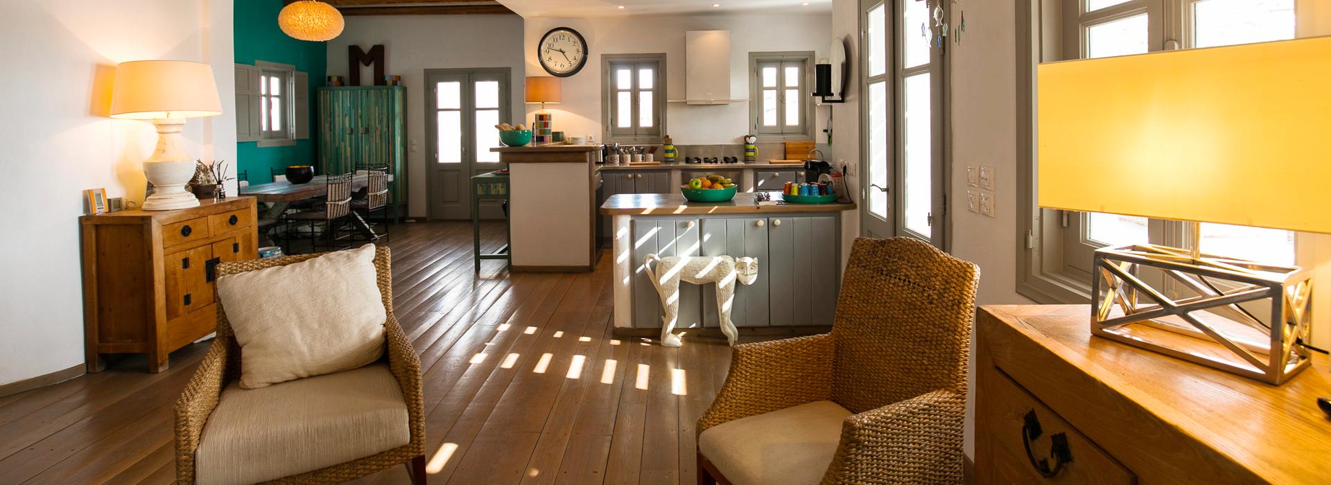 Une maison raffinée et confortable à Lipsi